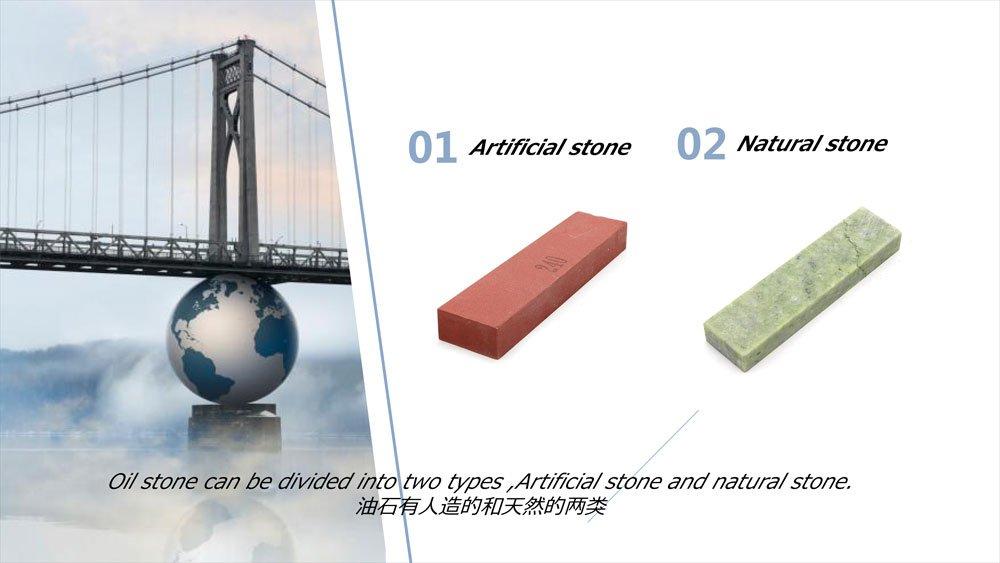oil stone types