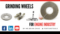 Six types of grinding wheels for engine industry