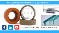 what grinding wheel do they use in glass industry