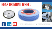 Five types of grinding wheels for gear industry