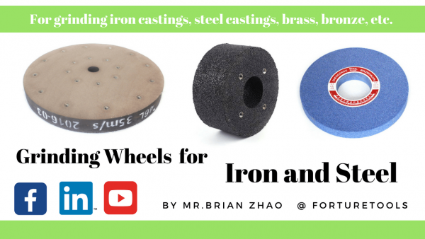 Grinding Wheels for Iron and steel Industry