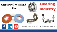 Three types of grinding wheels for bearing industry