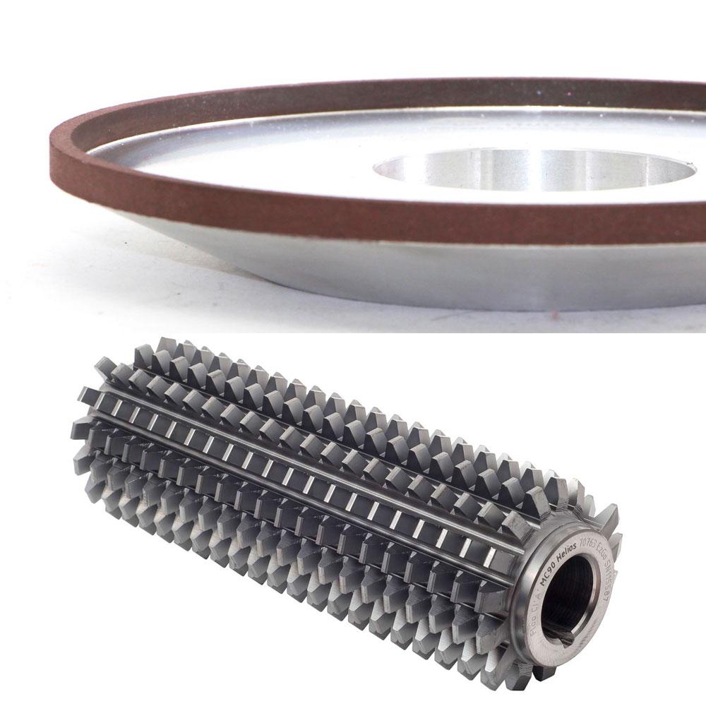 4C2 resin bond CBN grinding wheel for gear hob cutter