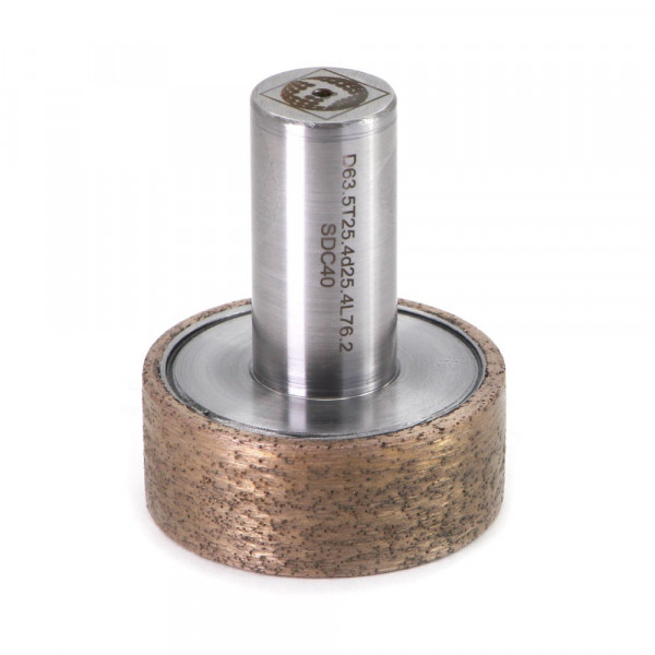 Coarse grinding diamond mounted wheel