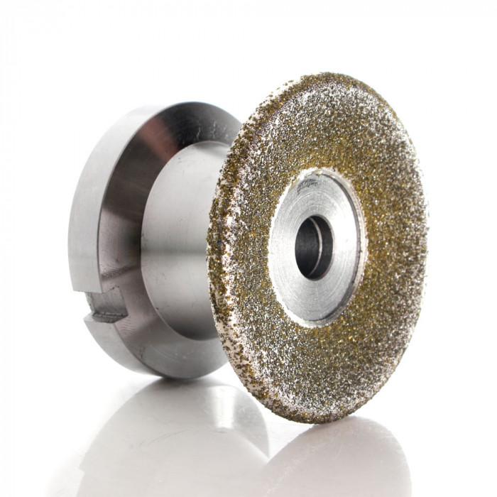Electroplated diamond rotary dresser