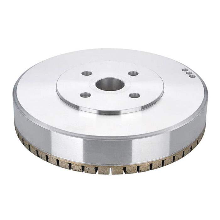 Full segmented diamond grinding wheel