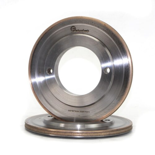 Solar photovoltaic glass diamond grinding wheel