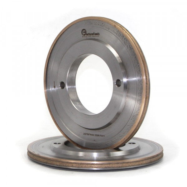 Solar photovoltaic glass diamond grinding wheel