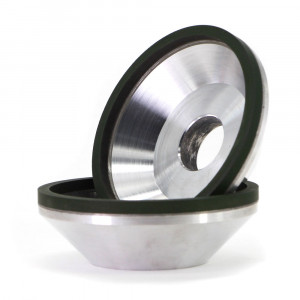 12A2 Resin bond flaring cup diamond grinding wheel