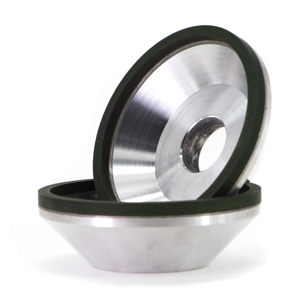 12A2 Resin bond flaring cup diamond grinding wheel