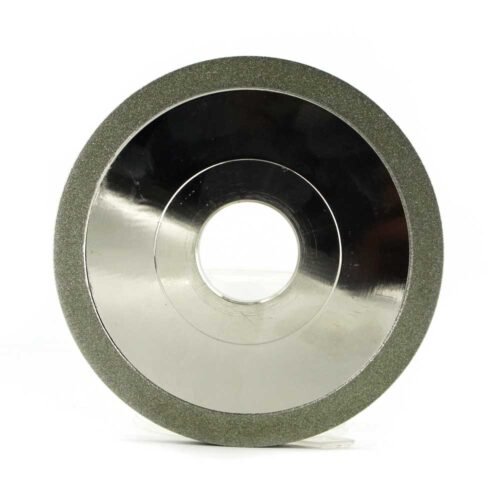 1A1 flat shape electroplated diamond grinding wheel for tungsten carbide