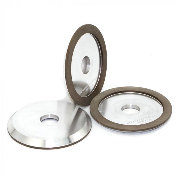 Diamond grinding wheel for tungsten carbide