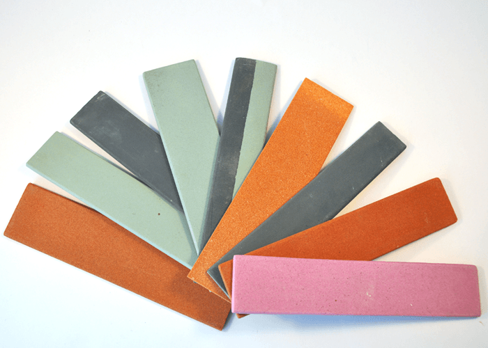 Customized abrasive sharpening stones of irregular shape aluminum oxide and silicon carbide (5)