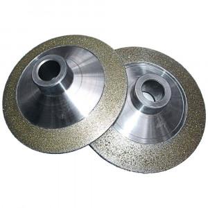 Diamond rotary dresser for gear