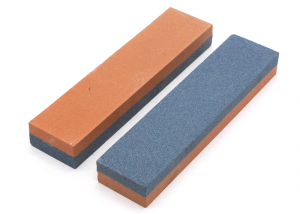 Double side combinded grit corundom sharpening stones for steel knives (1)