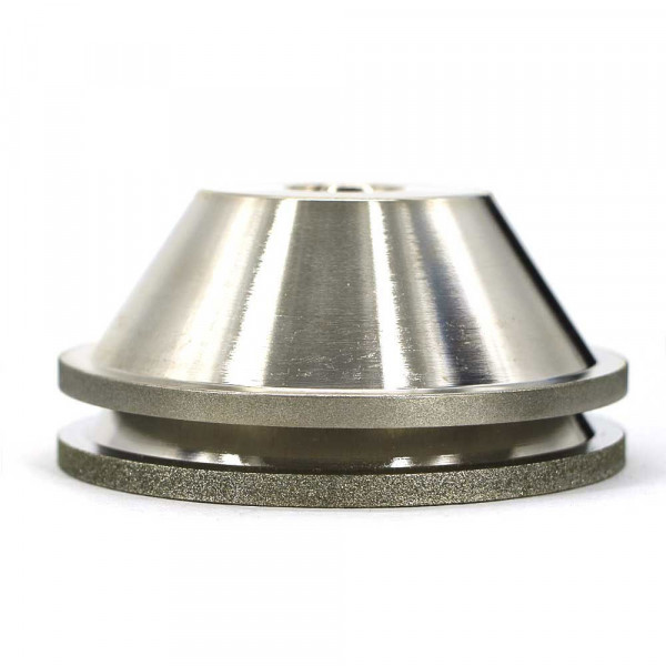 Electroplated bowl shape diamond grinding wheel for tungsten carbide