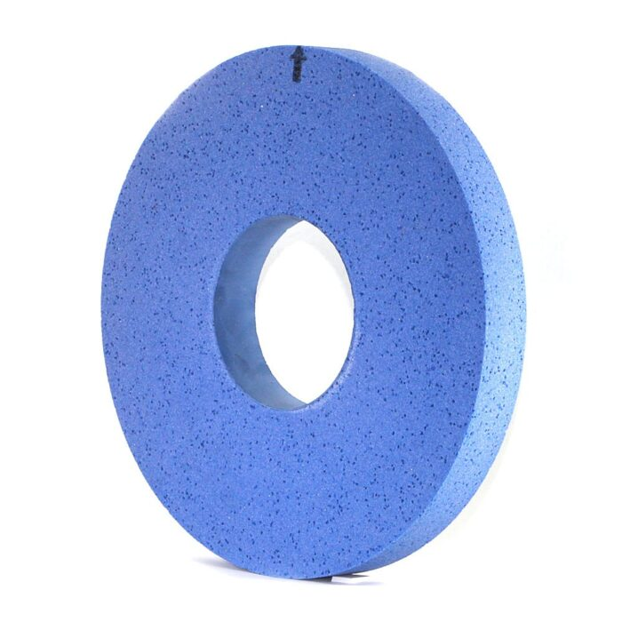 Flat shape SG grinding wheel with high porosity