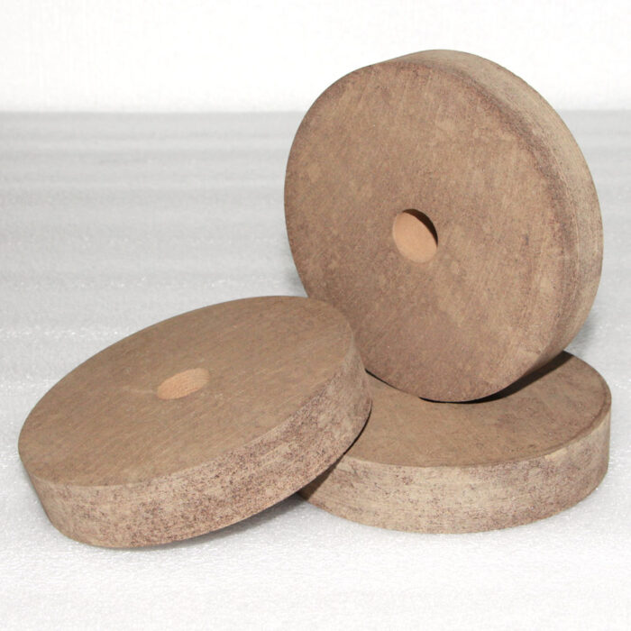 Flat shape rubber grinding wheel
