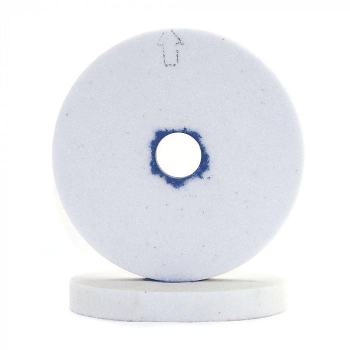 Flat shape white aluminum oxide grinding wheel