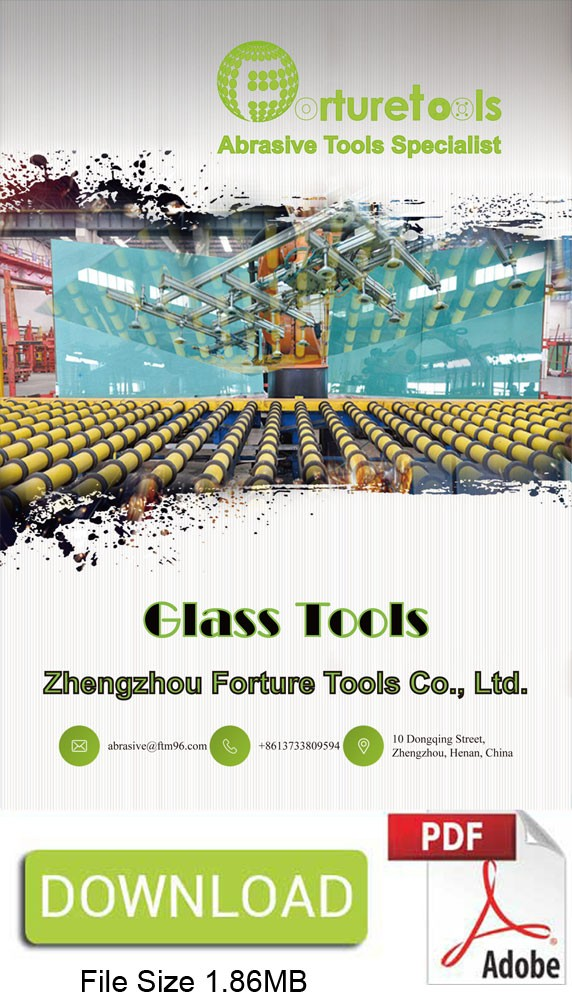 Glass tools catalogue diamond grinding wheel and drill bits