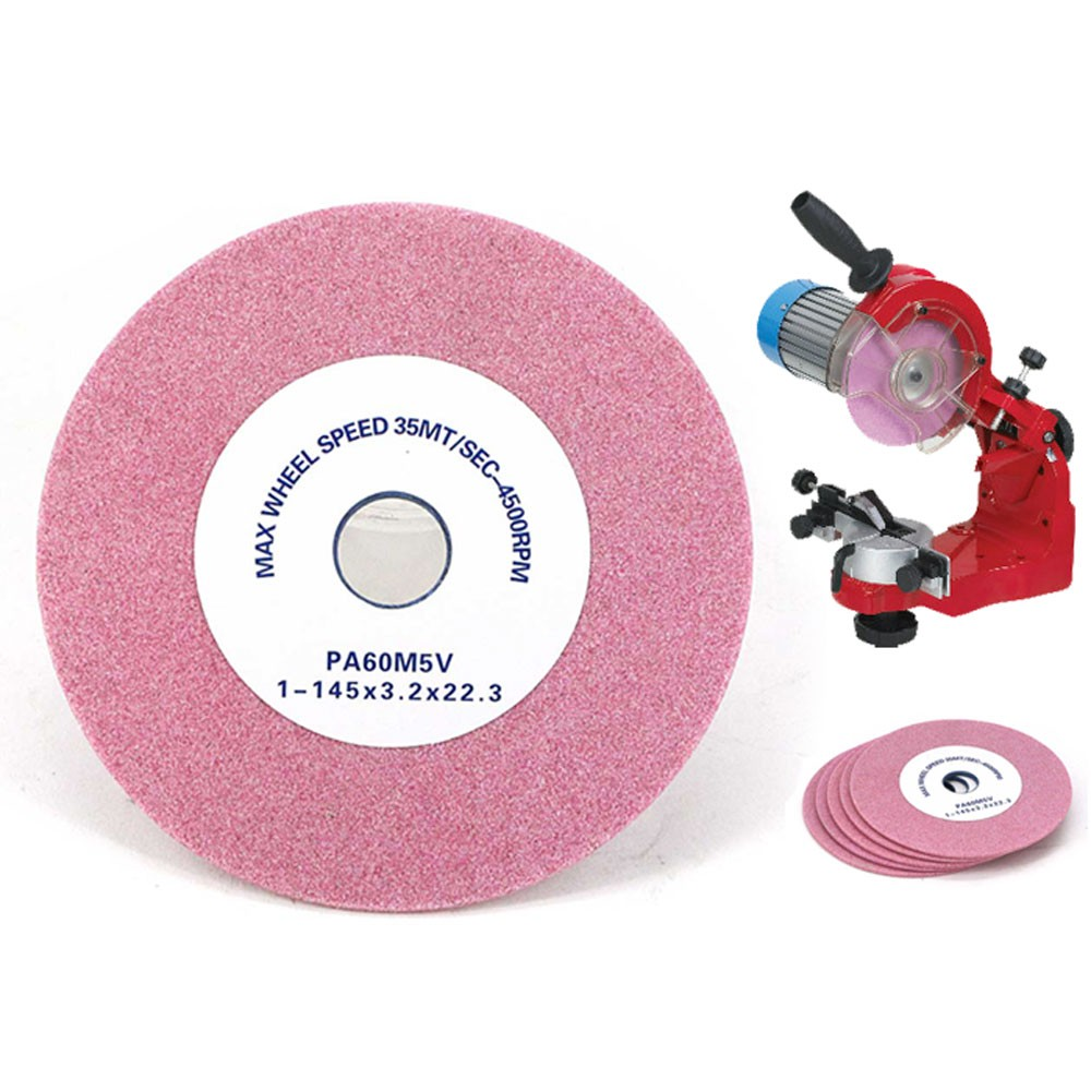Pink aluminum oxide Chainsaw grinding wheel
