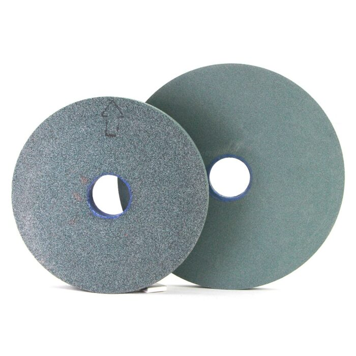 Plain shape Green silicon carbide grinding wheel