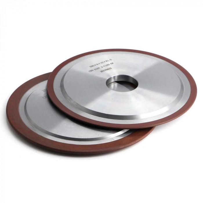 Resin bond CBN grinding wheel for HSS sharpening