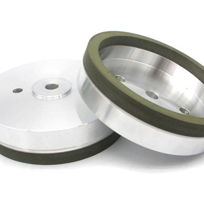Resin bond diamond cup wheel for glass edging