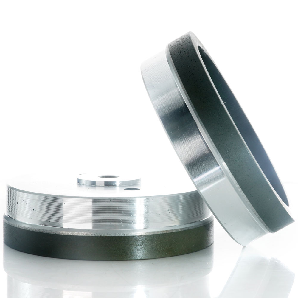 Resin bond diamond cup wheel for glass edging