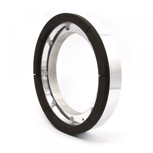 Resin bond diamond grinding wheel for silicon wafer