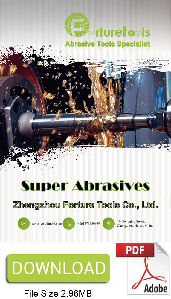 Super abrasives diamond and CBN wheels catalogue