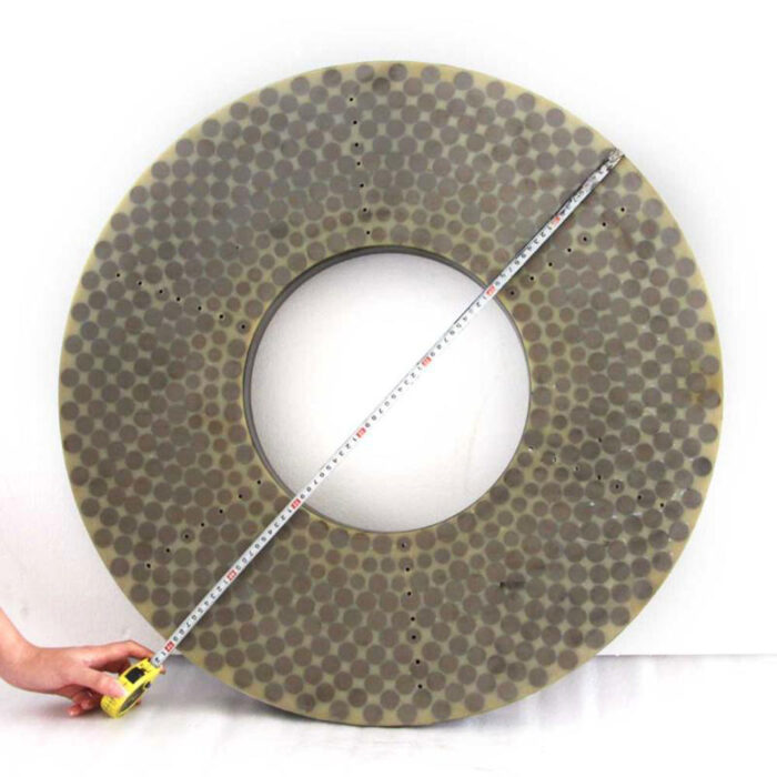 Vitrified bond CBN surface grinding wheel