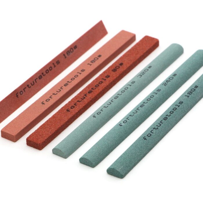 aluminum oxide and silicon carbide sharpening stone