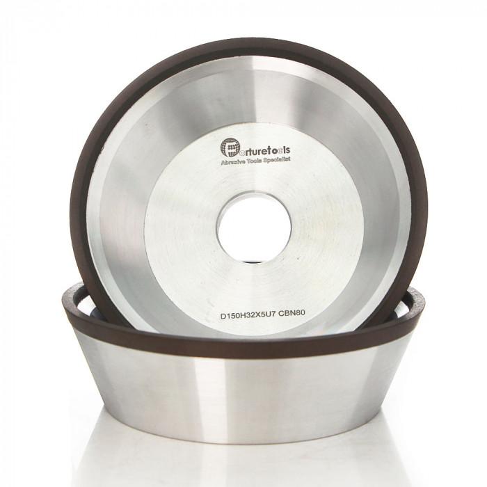 12V9 Bowl shape Resin bond diamond CBN grinding wheel