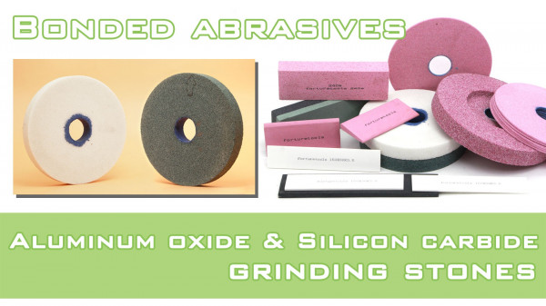Bonded Abrasive Tools,aluminum oxide and silicon-carbide grinding stones cover