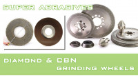 Super abrasives diamond and CBN grinding wheels