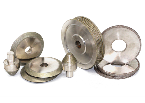 Electroplated grinding wheel