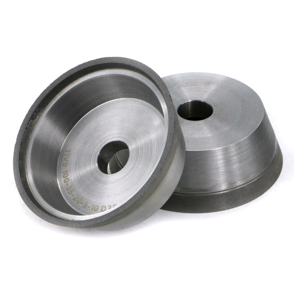 11V9 hybrid diamond grinding wheel for carbide