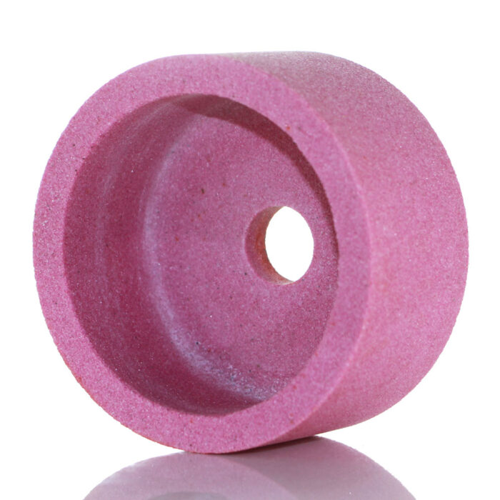 pink aluminum oxide cup grinding wheel
