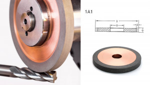 Hybrid Grinding Wheel 1A1 plain shape-forturetools