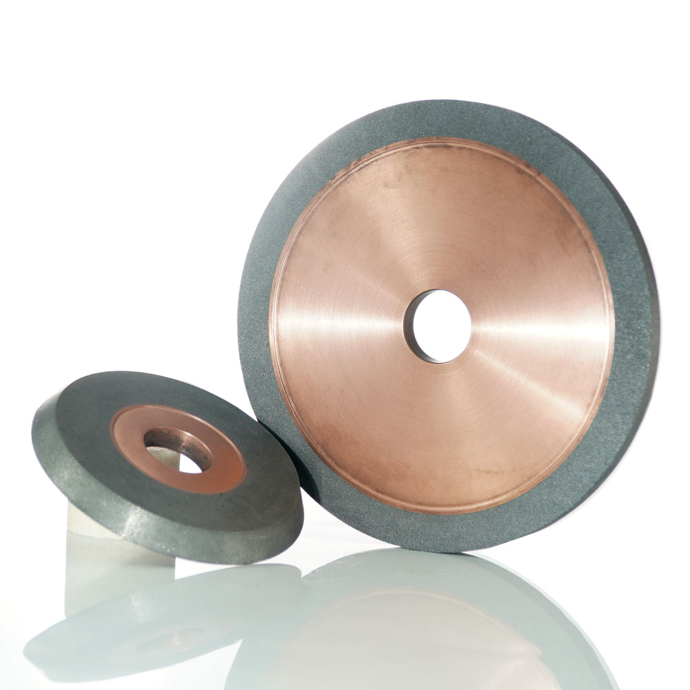 Hybrid grinding wheel for tungsten carbide