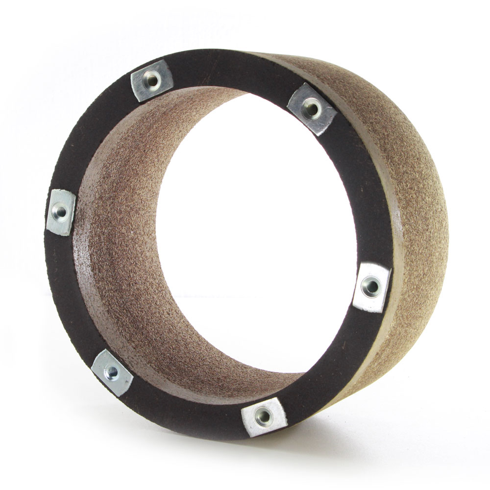 Resin aluminum oxide Barrel grinding wheels for knife grinding
