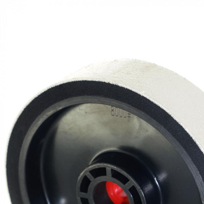 Lapidary diamond polishing wheel