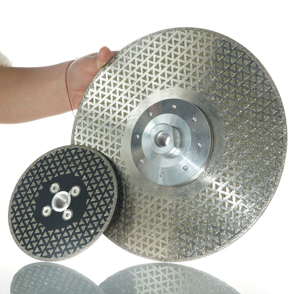 Electroplated Diamond Saw Blade with 40 Mesh rough grinding cutting disc (1)