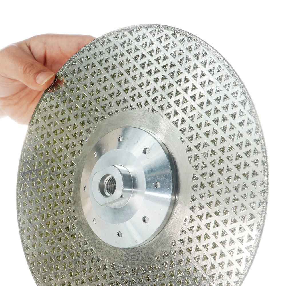 Electroplated Diamond Saw Blade with 40 Mesh rough grinding cutting disc (9)