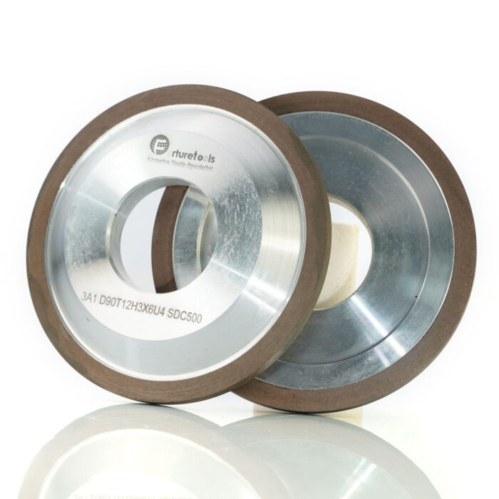 3A1 grinding wheel for carbide tool sharpening