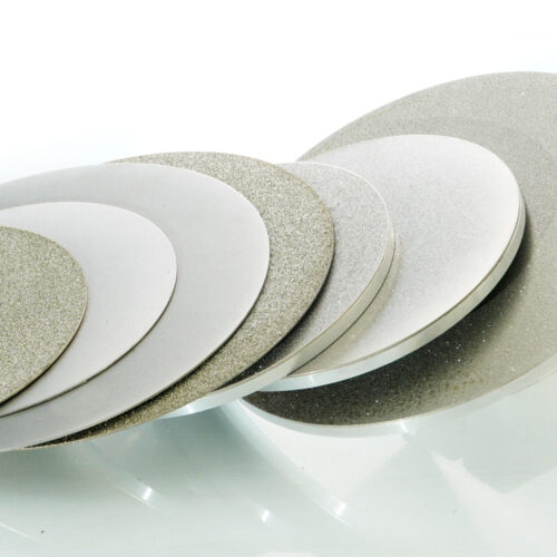 Lapidary diamond surface grinding wheel