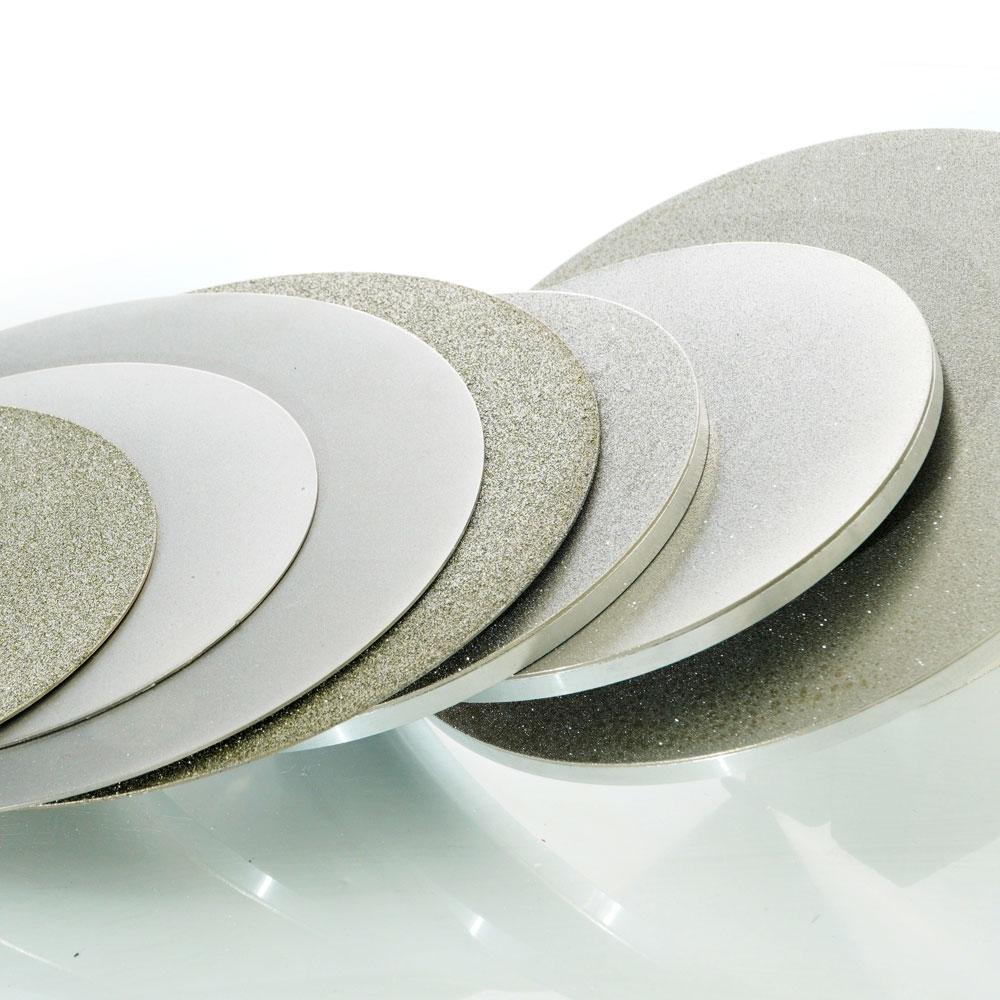 Lapidary diamond surface grinding wheel