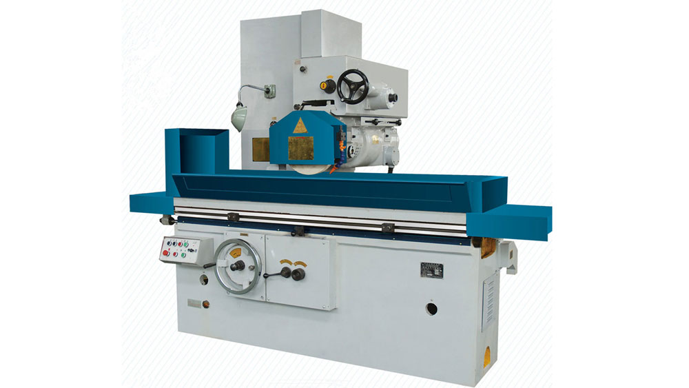 Horizontal-axis-and-rectangular-table-surface-grinder