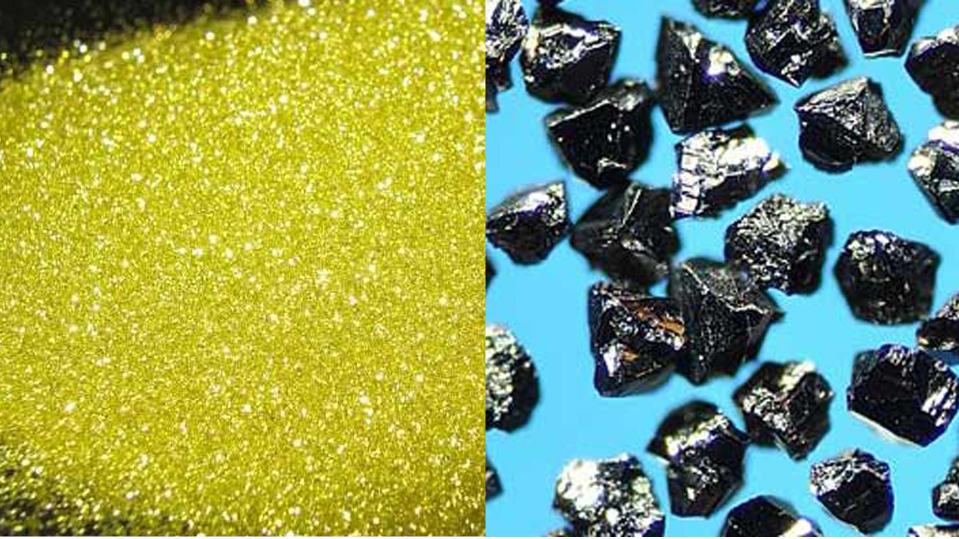 diamond and CBN abrasive grain